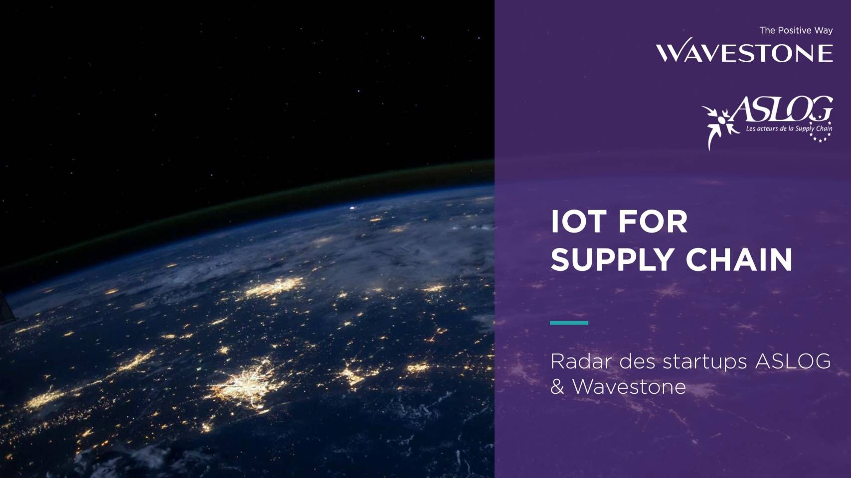 IoT for supply chain